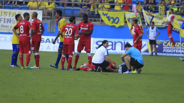 El Cádiz CF goleó en la cuarta jornada al Getafe en Carranza (3-0).
