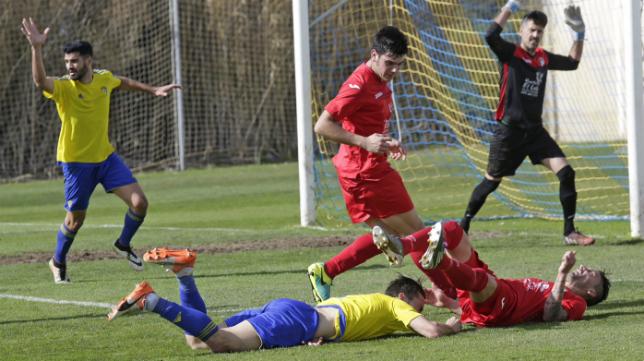El Cádiz CF B tendrá que seguir sufriendo para alcanzar su objetivo.