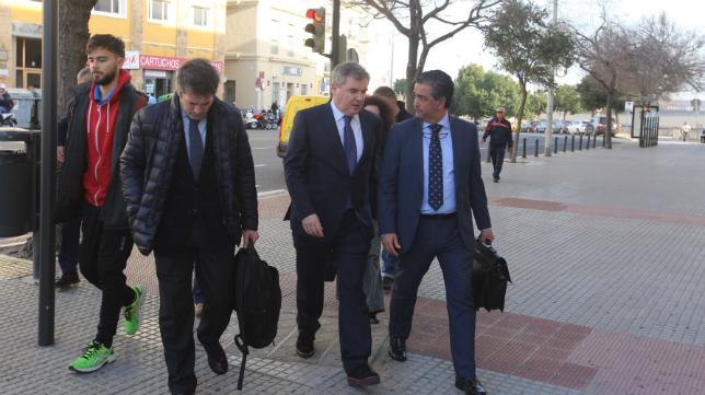 Manuel Vizcaíno declaró la pasada semana.