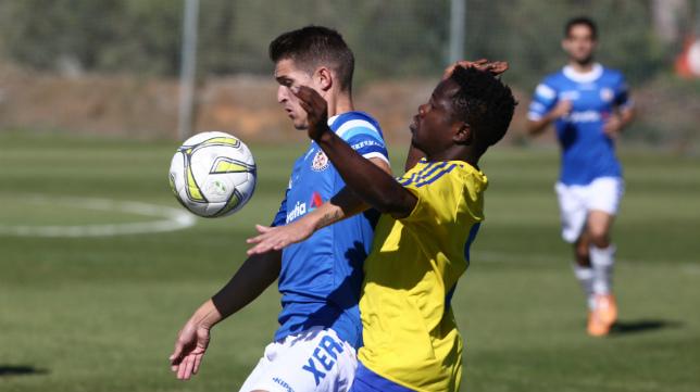 Cádiz B y Xerez DFC se vieron las caras en la primera vuelta.