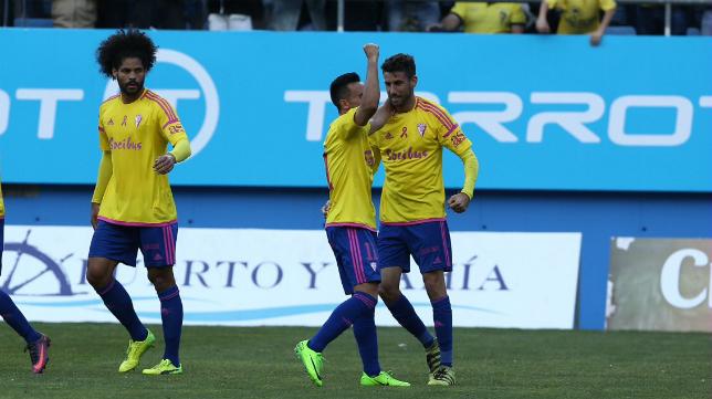 El Cádiz CF vuelve a ganar en Carranza.