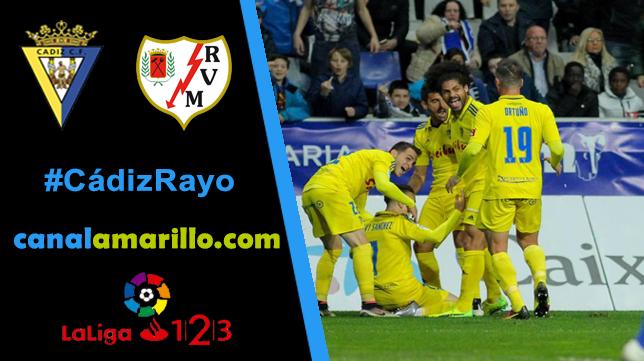 El Cádiz CF quiere olvidar Oviedo ganando al Rayo