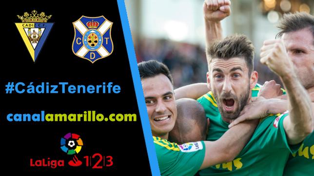 El Cádiz busca su tercera victoria consecutiva ante el Tenerife
