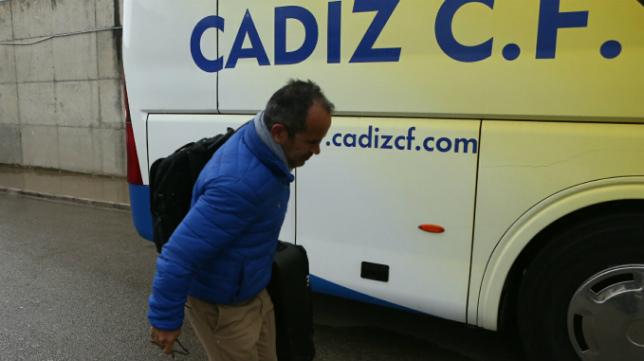 Cervera, antes de emprender viaje a Oviedo.