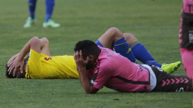 El Cádiz CF jugó uno de sus peores partidos de esta temporada ante el Tenerife.