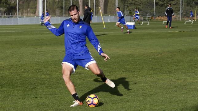 Ortuño lleva tres jornadas sin marcar.