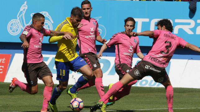 El Tenerife, posible rival del Cádiz CF en el 'play off'.