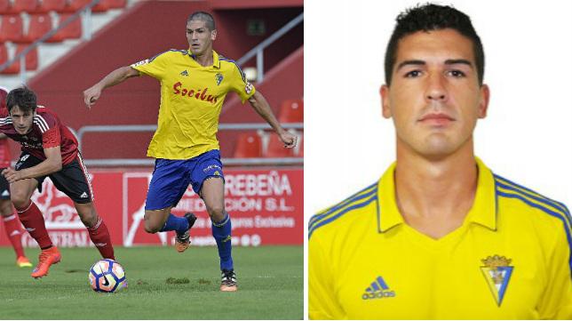 Garrido, mediocentro del Cádiz CF.