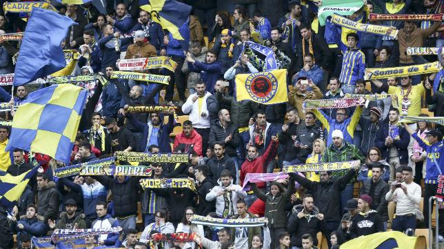 El Cádiz CF-Tenerife se juega este domingo a las cuatro de la tarde.