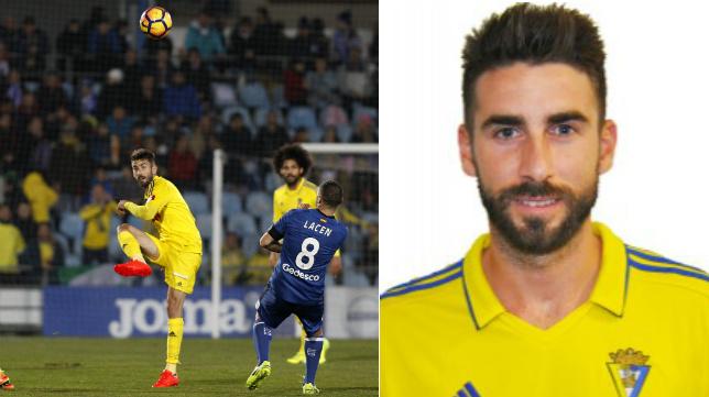 José Mari, mediocentro del Cádiz CF.