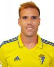 Ortuño, futbolista del Cádiz CF.