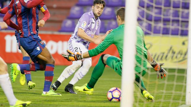 José Arnáiz sí estará ante el Cádiz CF.