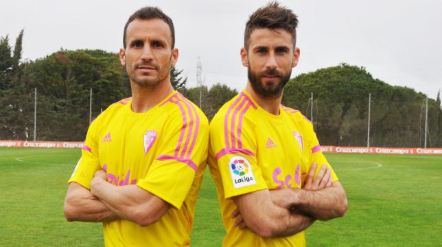 Esta es la nueva equipación que lucirá el Cádiz ante el Rayo Vallecano este domingo.