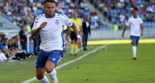 Aarón Ñíguez, jugador del CD Tenerife.