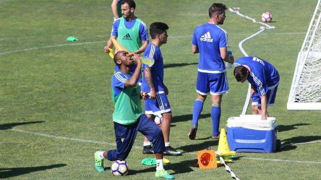 Abdullah, Servando y Ortuño deben ser claves, cada uno en su lugar, en el partido ante el Huesca.