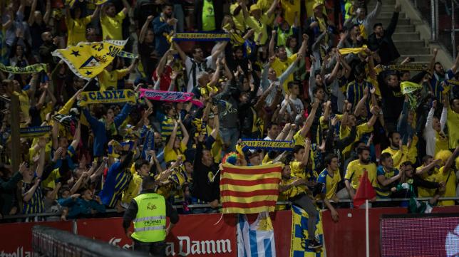 La afición del Cádiz CF se volverá a desplazar en masa.