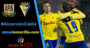 El Cádiz CF quiere romper su mala racha en Alcorcón
