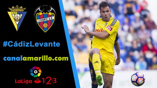 Volver a ganar en Carranza, objetivo del Cádiz CF ante el Levante