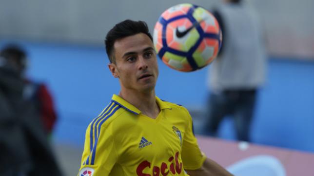 Álvaro García, uno de los baluartes de este Cádiz CF.
