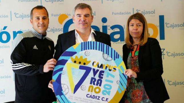 Manuel Vizcaíno presentó el Campus en la Fundación Cajasol.
