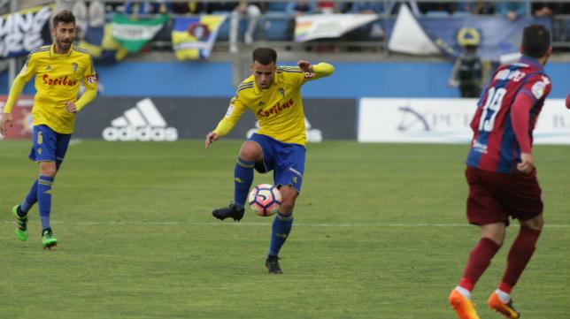Ager Aketxe es una de las sensaciones del Cádiz CF.