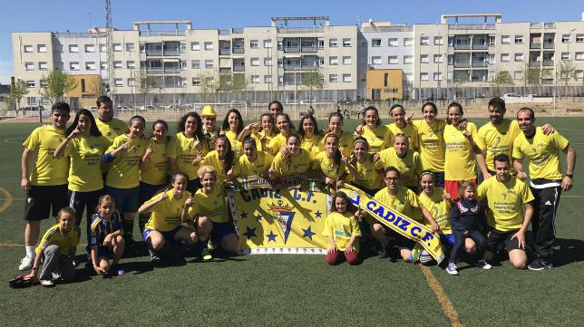 El Cádiz CF Femenino se proclamó campeón de Liga. Foto: Cádiz CF.