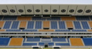 Tribuna del Estadio Ramón de Carranza. Foto: Nuevo Estadio Carranza.