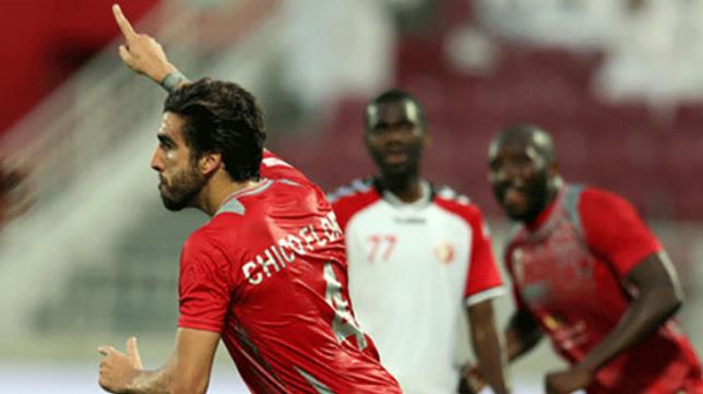 El equipo de Chico se ha proclamado vencedor de la liga de Qatar.