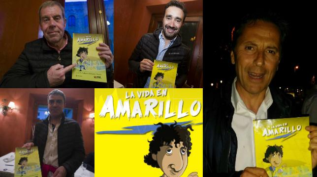 El equipo de 'El Partidazo' ya tiene el cómic 'La vida en amarillo'.