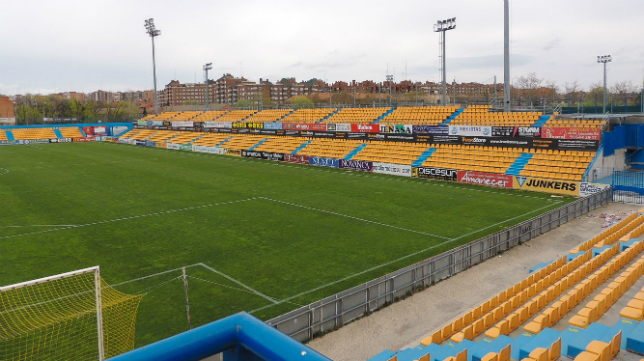 Estadio Santo Domingo de Alcorcón.
