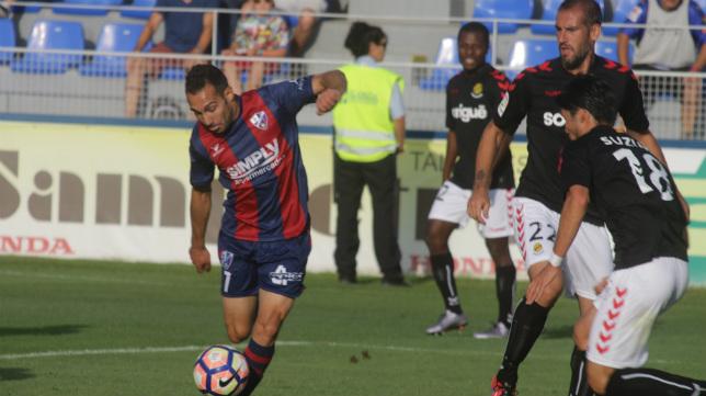 David Ferreiro, jugador del Huesca.