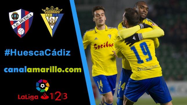 El Cádiz busca volver a ganar en Huesca