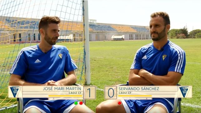 José Mari y Servando, protagonistas en La Liga 123
