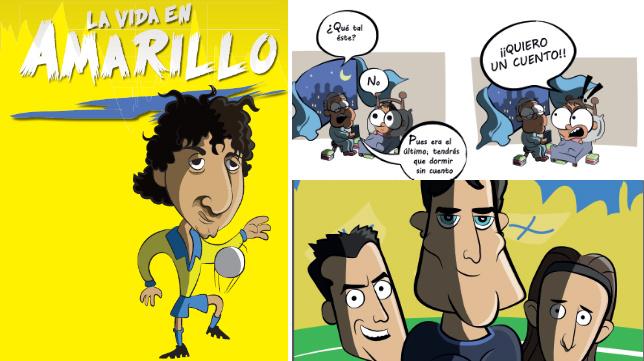 la-vida-en-amarillo-comic