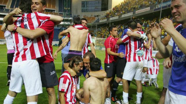 El CD Lugo ascendió en Carranza en la temporada 2011/12 tras una tanda de penaltis.