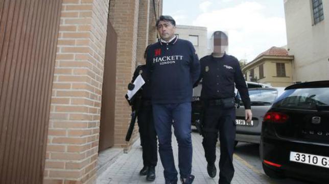 El inversor italiano Nobile Capuani, detenido.