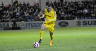 Ortuño marcó el gol del Cádiz CF en la última jugada.