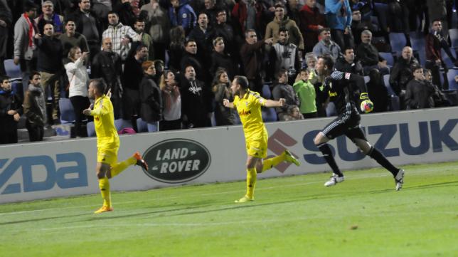 Ortuño empató en la última jugada del encuentro.