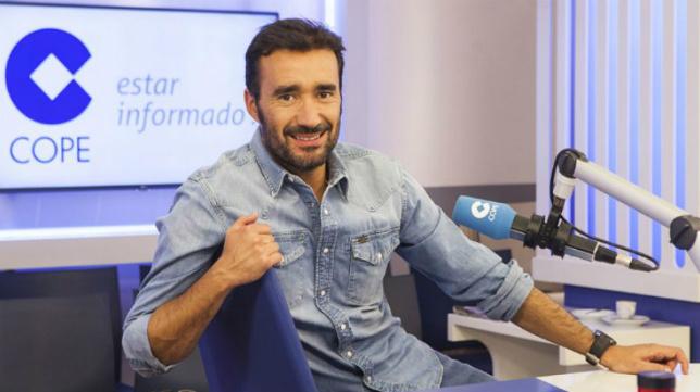Juanma Castaño, presentador de 'El Partidazo de COPE' que mañana visita Cádiz.