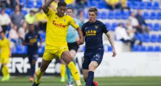 Eddy fue decisivo en el empate del Cádiz CF en La Condomina.