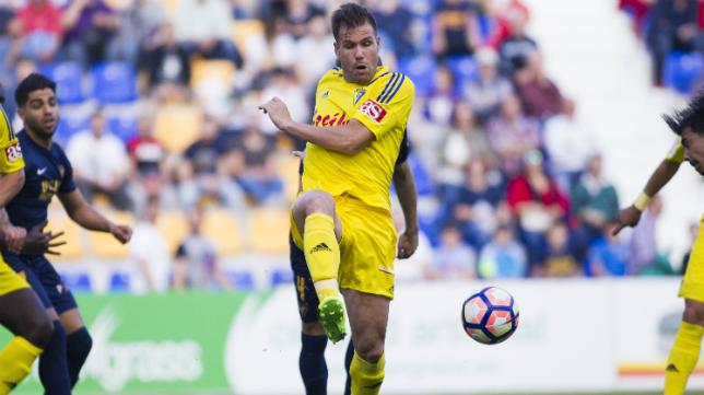 El Cádiz CF no pudo vencer al UCAM en La Condomina.