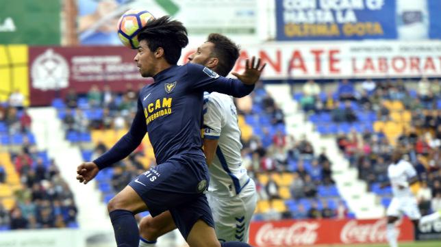 El Tenerife se dejó tres puntos en Murcia.