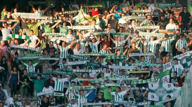 La afición del Córdoba estará presente en Cádiz.