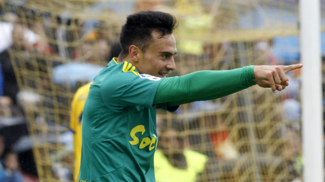 Álvaro marcó su cuarto gol en Alcorcón.