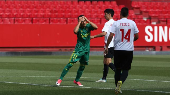Álvaro García no podrá jugar ante el Elche.