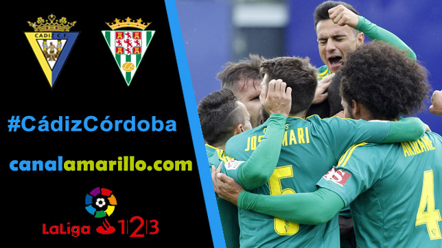 Una victoria, objetivo del Cádiz CF ante el Córdoba