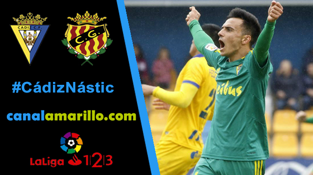 Dos victorias consecutivas, objetivo del Cádiz CF ante el Nástic