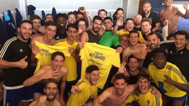 El Cádiz CF B ya es de Tercera con todas las letras. Foto: Cádiz CF.