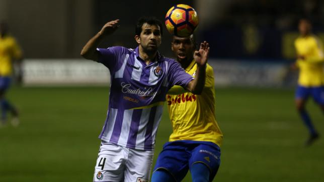 El Valladolid ganó en Carranza en la ida.