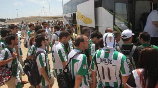 La afición del Córdoba estará presente este domingo en el Ramón de Carranza.